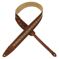Levy's MSJ1-BRN Print Series Strap, Brown