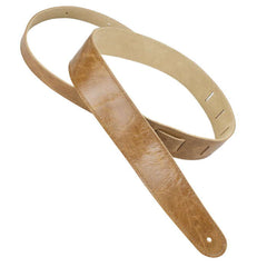Henry Heller Capri Garment Leather Strap, Tan