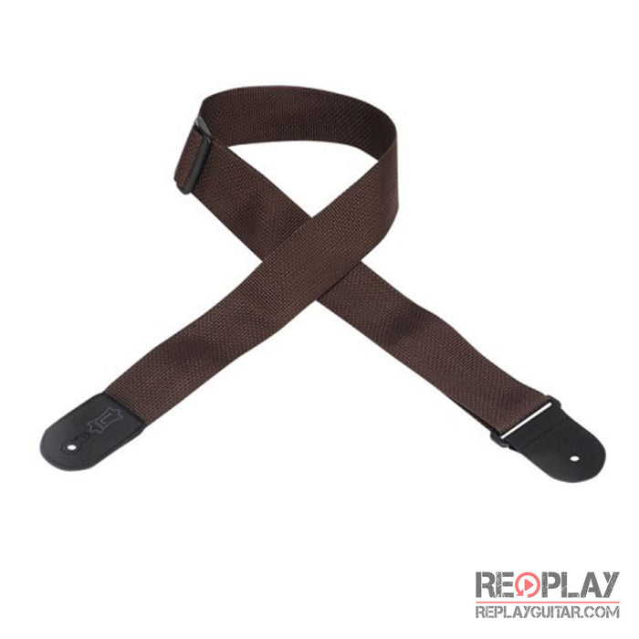 Levy's Basic Poly Strap M8POLY-BRN