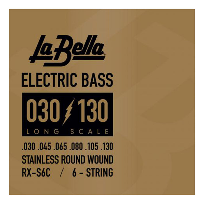 La Bella RX-S6C Stainless Round Wound Bass Strings