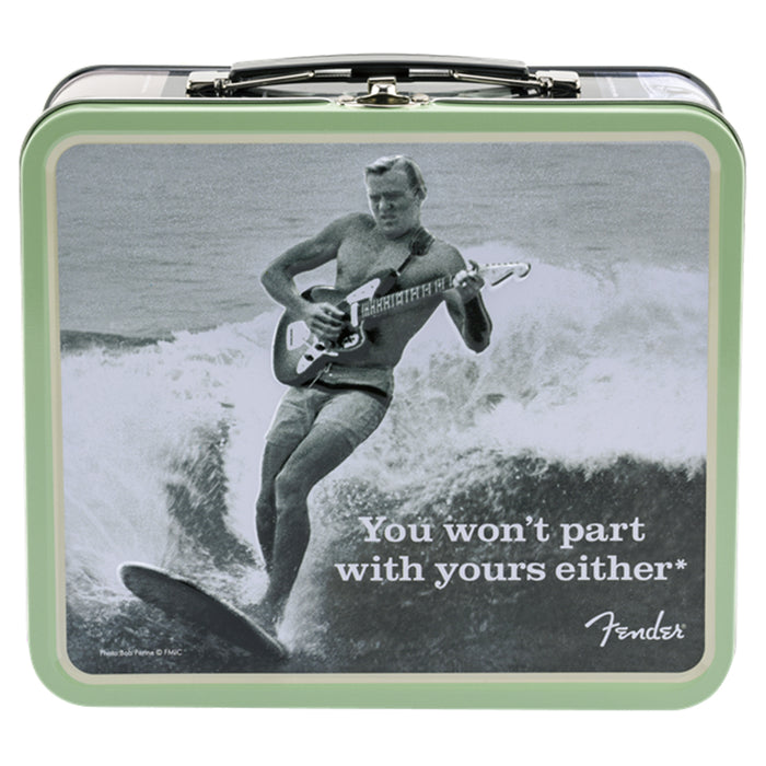 "Fender Lunchbox ""You Won't Part With Yours Either"""