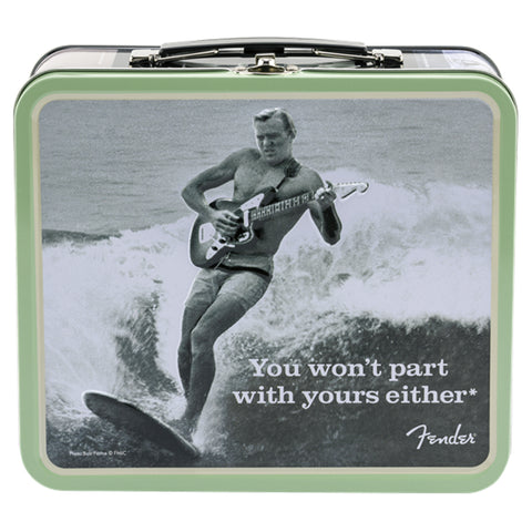 "Fender Lunchbox ""You Won't Part With Yours Either"" With Accessories"