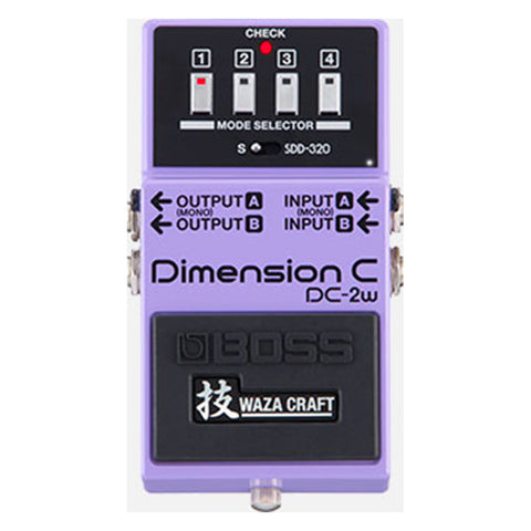 Boss DC-2W Dimension C Effects Pedal, front