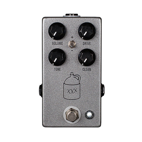 JHS Moonshine V2 Overdrive Pedal, front closeup
