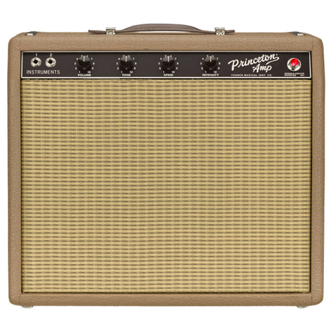 Fender '62 Princeton Chris Stapleton Edition Amplifier, Brown and Wheat, front