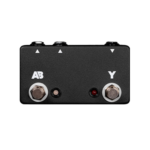 JHS Active A/B/Y Footswitch Pedal, front closeup