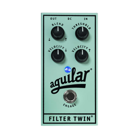 Aguilar Filter Twin Dual Envelope Filter Pedal, front closeup