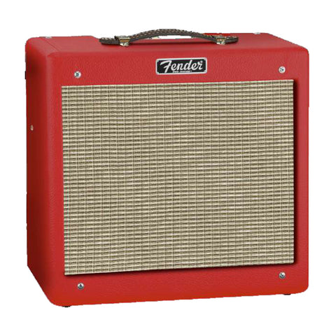 Fender FSR Pro Junior IV Combo Amplifier, Fiesta Red, front
