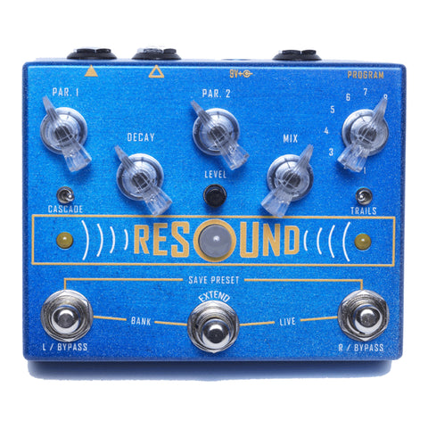 Cusack Music Resound Digital Reverb Effects Pedal, front