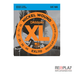 D'Addario EXL110 Nickel Wound, Regular Light, 10-46