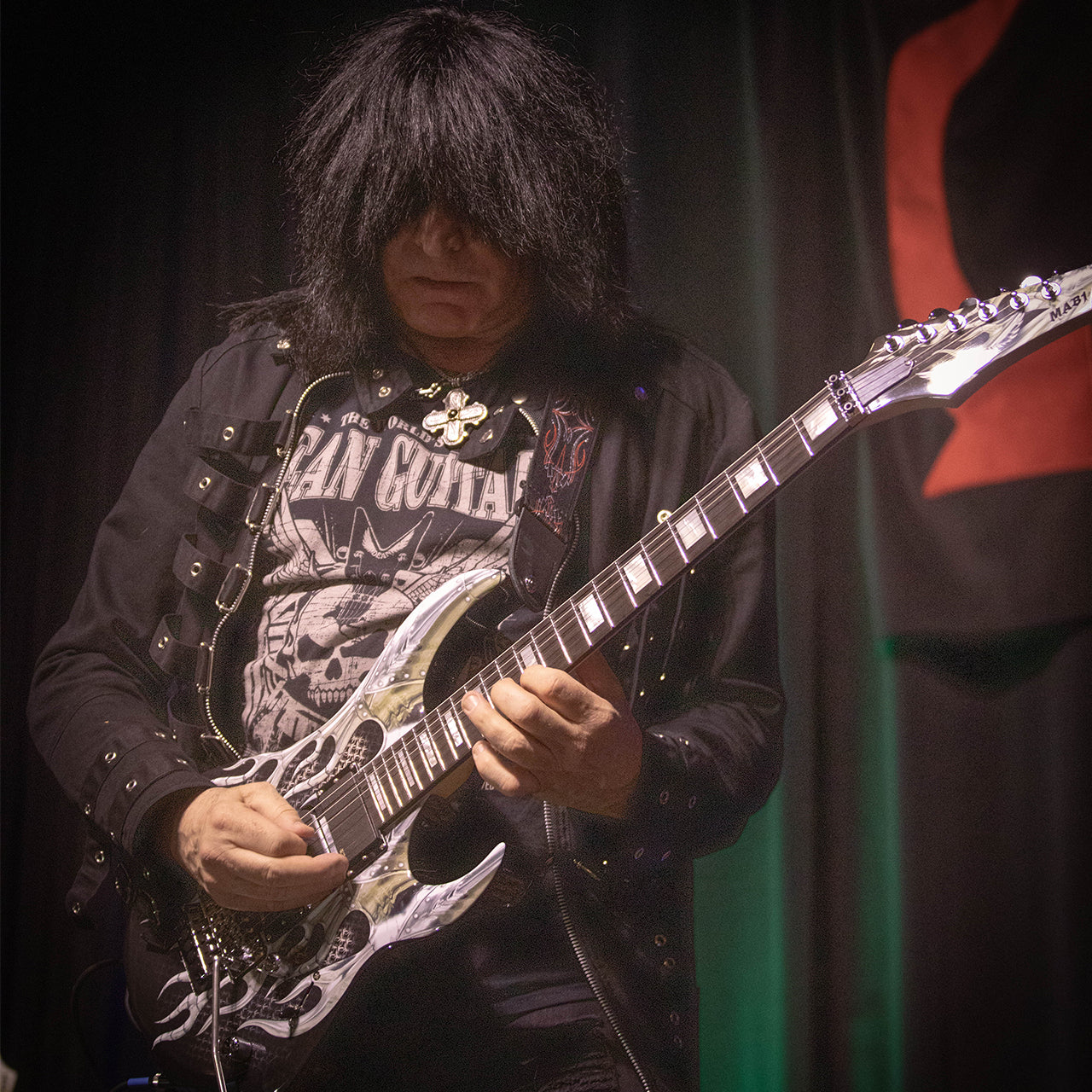 dean michael batio signature mab1 signed by michael angelo batio armored flame for sale. Black Bedroom Furniture Sets. Home Design Ideas