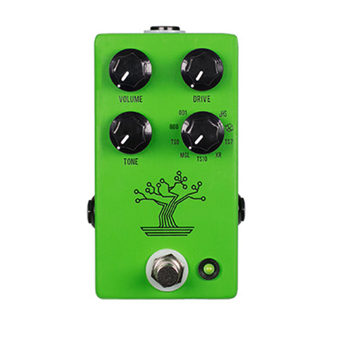 JHS Pedals Bonsai 9-Way Tube Screamer Effects Pedal, front