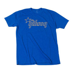 Gibson Star Logo Shirt, XL, Blue