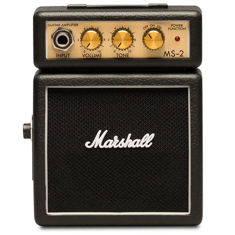 Marshall MS-2 Mini Amplifier, Black