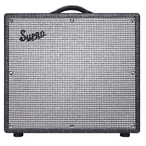 Supro 1696RT Black Magick Reverb Combo, Black, front
