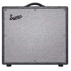 Supro 1696RT Black Magick Reverb, Black