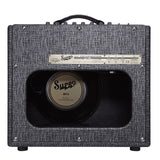 Supro 1696RT Black Magick Reverb Combo, Black, back