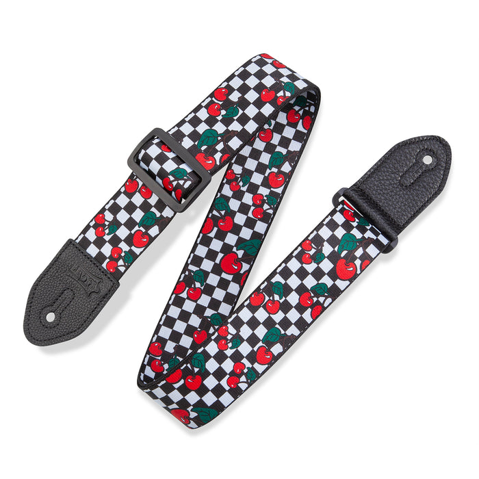 Levy's MP2FS-002 Fruit Salad Cherries Strap, Checkered