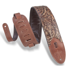 Levy's M4WP-002 Sundance Line Palm Pecan Strap, Brown