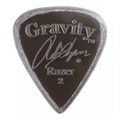 Gravity Picks Razer Standard Master Chapman Pick, 2mm, Smoke