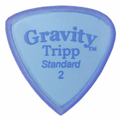 Gravity Picks Tripp Standard Polished Pick, 2mm, Blue