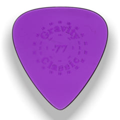Gravity Picks Classic Standard Polished Pick, 0.77mm, Purple
