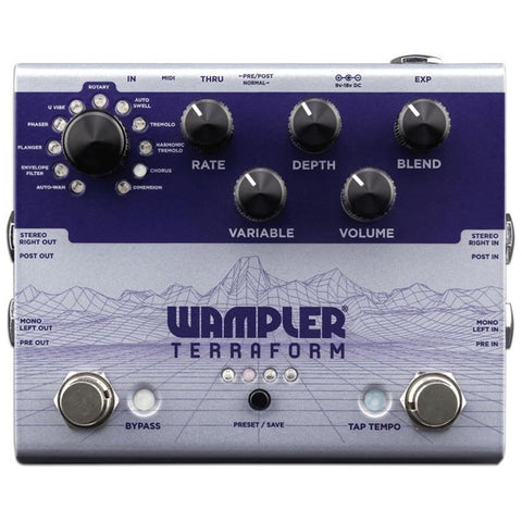 Wampler Terraform Modulation Effects Pedal