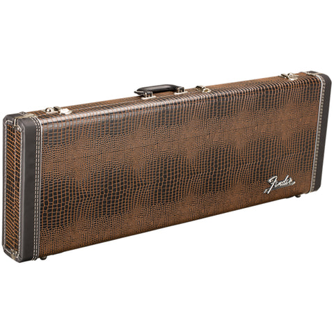 Fender Limited Edition Legacy Series Wood Hard Shell Case, 2-Tone Gator