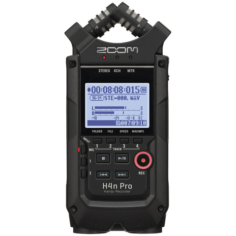 Zoom H4N Pro Black Handy Audio Recorder