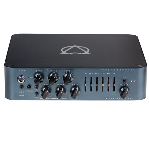 Darkglass Alpha-Omega 900 Head, Black