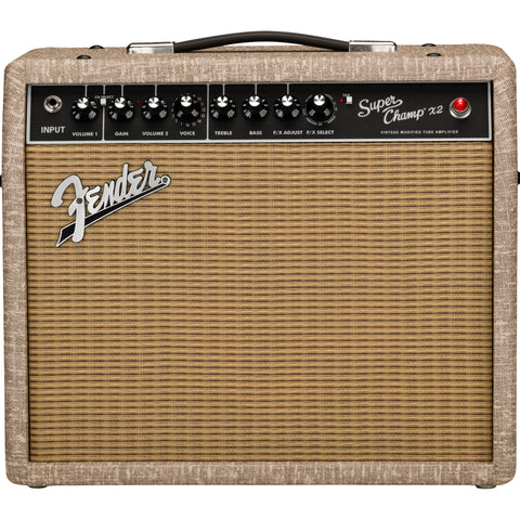 Fender 2020 Limited Edition Super Champ X2 Amplifier, Fawn Wheat