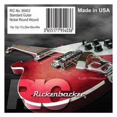Rickenbacker 95403 Nickel Round Wound Standard Strings, 10p-46w