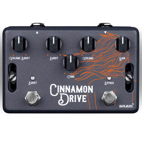 Aclam Cinnamon Drive Overdrive Effects Pedal