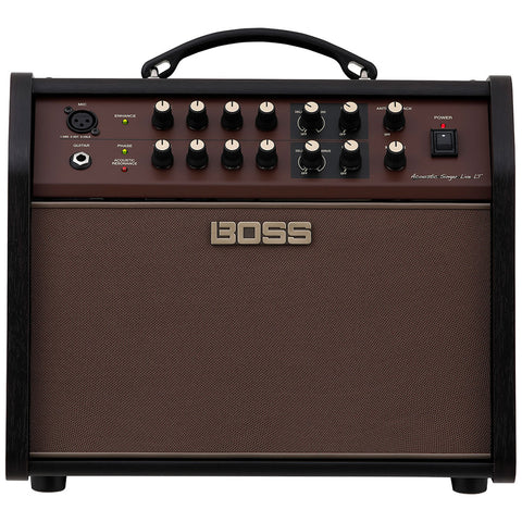 BOSS Acoustic Singer Live LT Amplifier, Brown