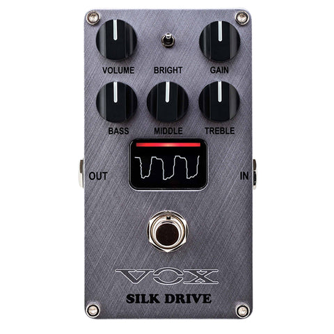 VOX Silk Drive Overdrive Effects Pedal