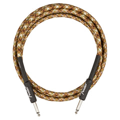 Fender Professional Series 10' Instrument Cable, Desert Camo