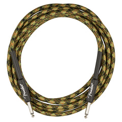 Fender Professional Series 10' Instrument Cable, Camo