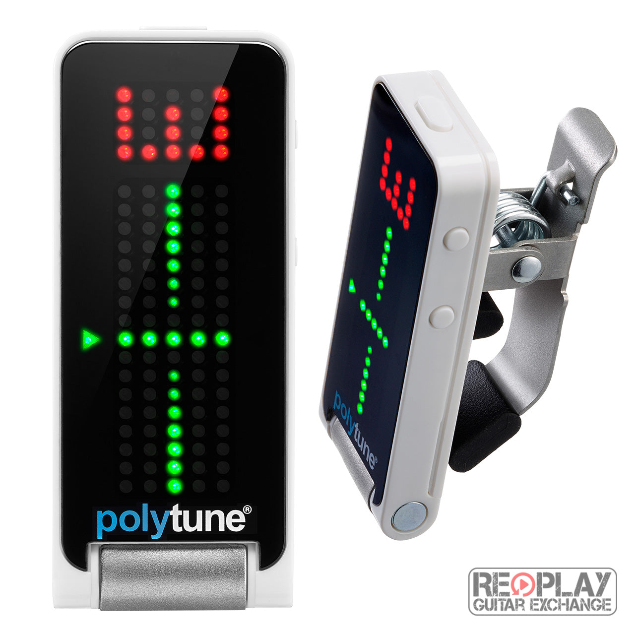 tc electronic polytune clip on guitar tuner for sale replay guitar. Black Bedroom Furniture Sets. Home Design Ideas