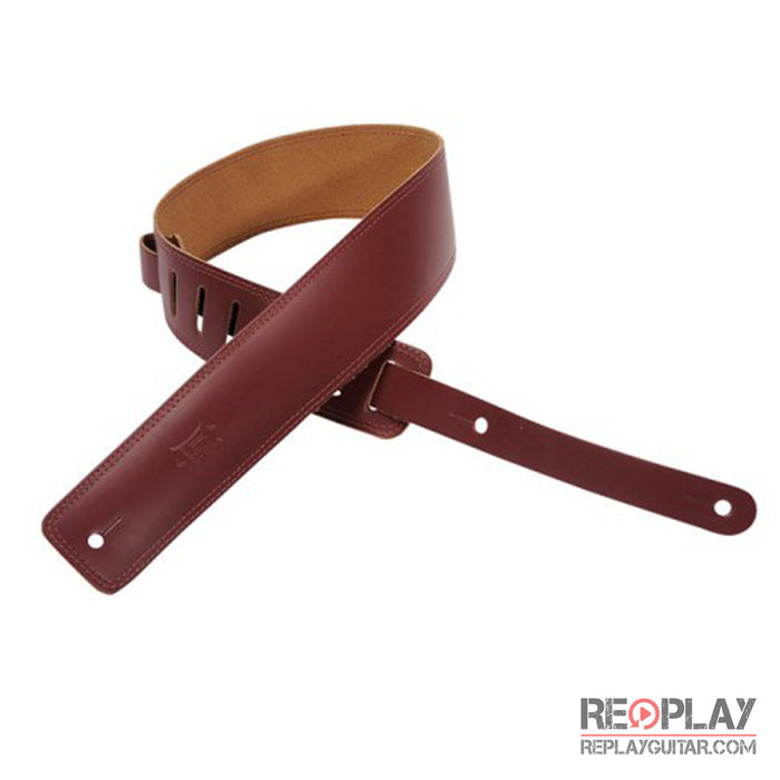 Levy's Basic Leather Strap DM1-BRG