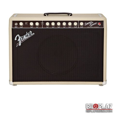 Fender Super-Sonic 22 Blonde Combo