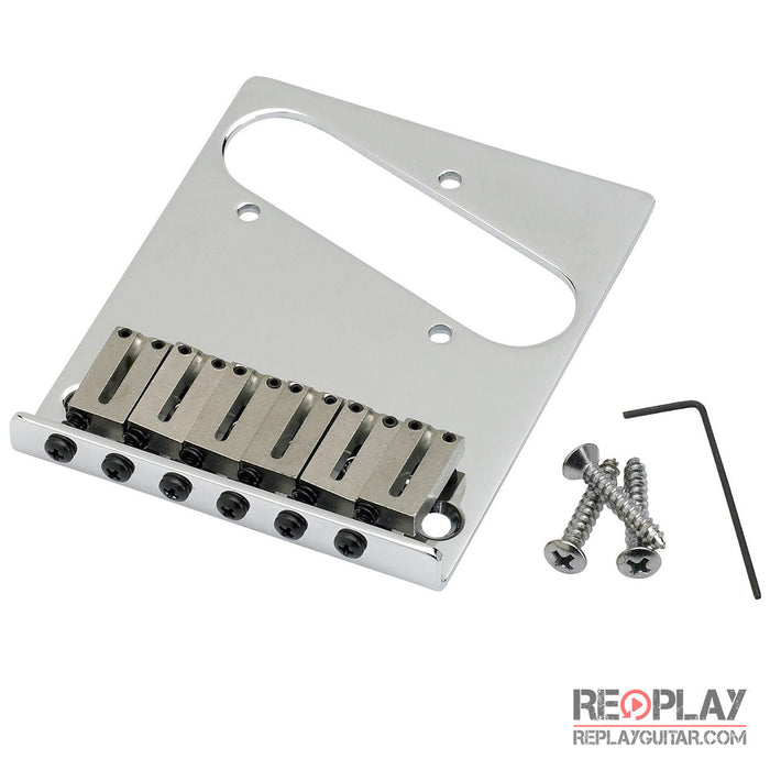 Fender 6-Saddle American Series Tele Bridge Assembly