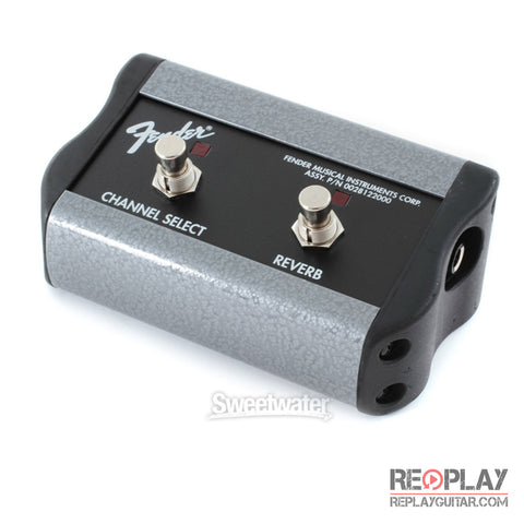 Fender 2 Button Footswitch: Channel-Reverb