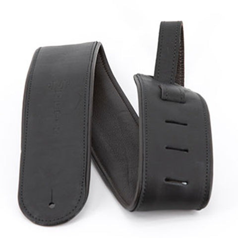 Martin Black Rolled Leather Strap