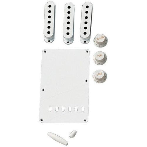 Fender VINTAGE-STYLE STRATOCASTER ACCESSORY KIT - AGED WHITE