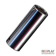 Dunlop 220 Metallic Chromed Steel Slide - Medium