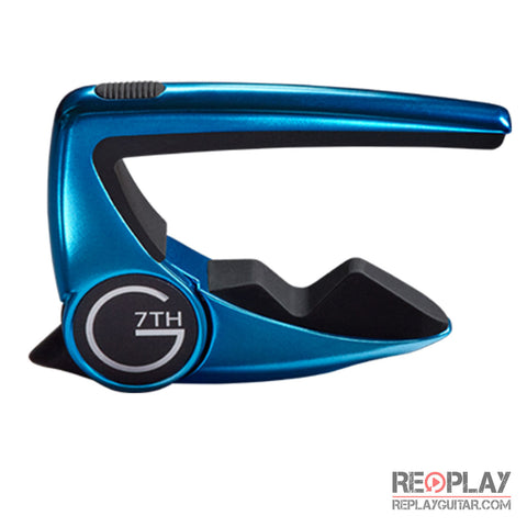 G7th Performance 2 Capo Special Edition Blue Limelight