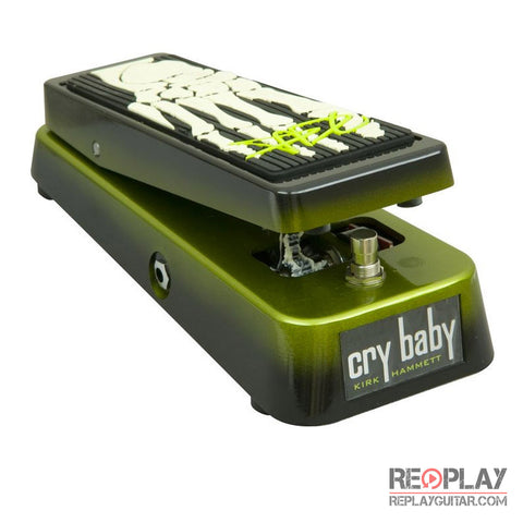 Used Dunlop Kirk Hammett Signature Crybaby Wah
