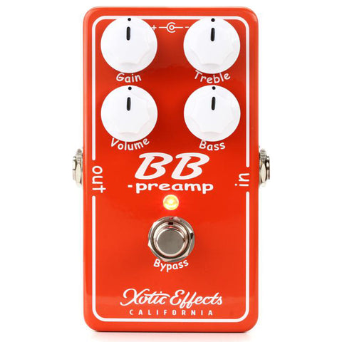 Xotic BB Preamp Effects Pedal