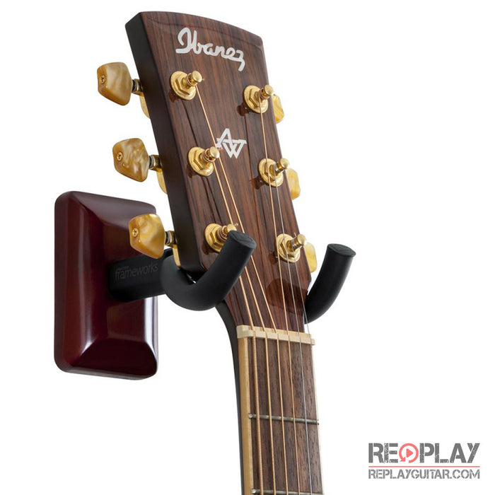 Gator Cherry Wall Mount Guitar Hanger