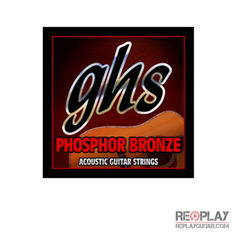 GHS Phosphor Bronze 6-String Acoustic, Extra Light